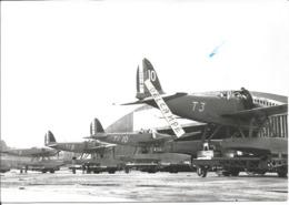PHOTO AVION HYDRAVION  LATECOERE 298  EN ALIGNEMENT   TACHE BLEU SUR FACADE        12X17CM  ARCHIVE ECPA - Aviation