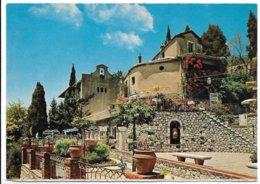 Taormina (Messina). Angolo Caratteristico. Tabella Birra Prinz Braun Alla Fine Della Scalinata A Destra. - Messina