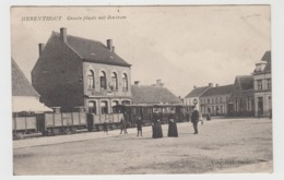 Herenthout  Groote Plaats Met Den Tram    TRAM  TRAMWAY - Herenthout