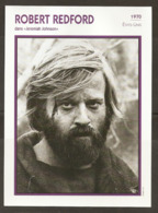 PORTRAIT DE STAR 1970 ÉTATS UNIS USA - ACTEUR ROBERT REDFORD JEREMIAH - UNITED STATES USA ACTOR CINEMA FILM PHOTO - Photographs