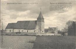 CPA Environs De Laon Canton De Crécy-sur-Serre Eglise De Barenton-Cel - Laon