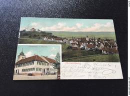 ROTTENBERG  U.a. Gasthaus ZUM HIRSCH  1917 - Sonstige