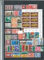 Switzerland (la Suisse/Schweiz) , Grand Lot Des Timbres Neufs S.c. (as Per Scans) MNH - Collections