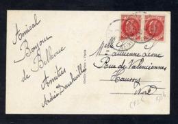 PETAIN N°506 EN PAIRE  SUR CPI 5 MOTS  1942 - 1941-42 Pétain