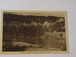 ARDECHE-SAINT LAURENT DU PAPE-PLAGE-ANIMEE - France