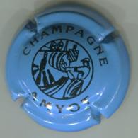 CAPSULE-CHAMPAGNE AMYOT N°05 Bleu & Noir - Autres