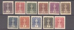 Guinée  -  Taxes  :  Yv  26-36  * - Nuovi