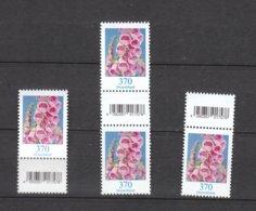 Deutschland BRD **   3501 R  Blumen Fingerhut  SZd 1-SZd 3 Zwei Marken  Mit Nummer Neuausgaben  2.11.2019 - Nuevos