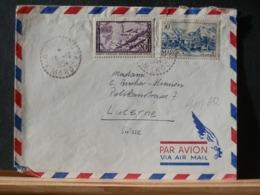 A11/651  LETTRE  MAROC  1954 POUR LA SUISSE - Sri Lanka (Ceylan) (1948-...)