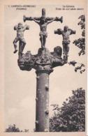 29 LAMPAUL-GUIMILIAU Le Calvaire, Croix Du XVIe Siècle, Détail - Lampaul-Guimiliau