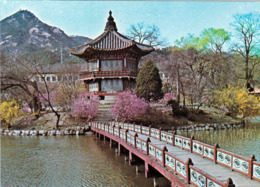1 AK Südkorea * Hyangwonjeong Pavilion Im Gyeongbokgung Palast In Seoul * - Korea (Süd)