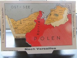 Postkarte Propaganda Klappkarte Danzig 1935 R! - Allemagne