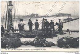 BOULOGNE  SUR MER    - BB 126  - L'appareillage Des Filets - Boulogne Sur Mer