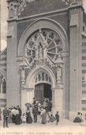Malo Les Bains Dunkerque LL 93 église Sortie De Messe Précurseur - Malo Les Bains