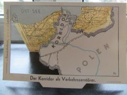 Postkarte Propaganda Klappkarte Danzig 1933 R! - Briefe U. Dokumente