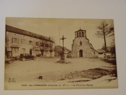 ARDECHE-LAC D'ISSARLES-LA PLACE DE L'EGLISE ED MB - France
