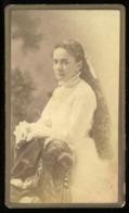 CDV - Portrait Lady 'miss ? Dodge' - Rochester N.Y. USA - Antiche (ante 1900)
