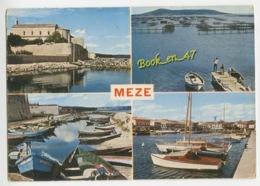 {72621} 34 Hérault Mèze , Multivues ; Divers Aspects - Mèze