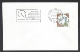 Chess, Italy Reggio Emilia, 27.12.1991, Roller Cancel On Envelope, International Tournament - Schach
