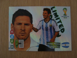 CARTE PANINI FIFA WORLD CUP BRASIL LIONEL MESSI - Franse Uitgave