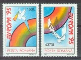RO 1995 EUROPA CEPT, ROMANIA, 1 X 2v, MNH - 1995