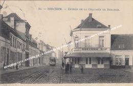 BERCHEM 1912 / ENTREE DE LA CHAUSSE DE BERCHEM / PASSAGE TRAM 7 THV BERCHEM HOF / Edit Librairie J Malo - Antwerpen