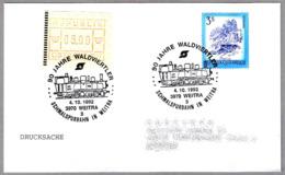 90 Años WALDVIERTLER - Ferrocarril De Via Estrecha. Weitra 1992 - Trenes