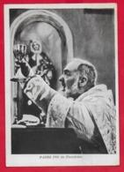 CARTOLINA VG ITALIA - S. Messa Padre PIO Da Pietrelcina - BENEDETTA DAL PADRE - 10 X 15 - 1959 S GIOVANNI ROTONDO - Santi