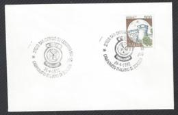 Chess, Italy San Giorgio Su Legnano, 26.04.1992, Cancel On Envelope, Italian National Championship - Schach