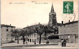 69 VAUGNERAY - La Place De La Mairie. - France