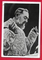 CARTOLINA VG ITALIA - S. Messa Padre PIO Da Pietrelcina - Ed. VINELLI - 10 X 15 - 1962 PESCARA - Santi