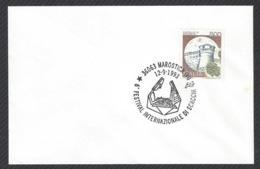 Chess, Italy Marostica, 12.09.1993, Cancel On Envelope, International Chess Festival - Schach