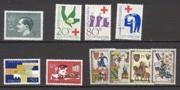 Liechtenstein   Année Complète  1963  * *  TB   Voir Scan Et Description - Full Years