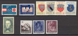 Liechtenstein   Année Complète  1964  * *  TB   Voir Scan Et Description - Full Years