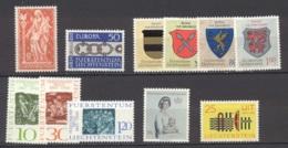 Liechtenstein   Année Complète  1965  * *  TB   Voir Scan Et Description - Full Years
