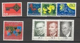 Liechtenstein   Année Complète  1968  * *  TB   Voir Scan Et Description - Full Years