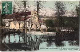 CPA 91 - PERIGNY SUR YERRES (Essonne) - Le Moulin (vue Prise En Aval) - Ed. Huré, L'H. - France