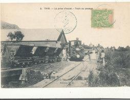 NOUVELLE CALEDONIE ))  THIO   La Prise D Essai   Train Au Pesage - Nouvelle Calédonie