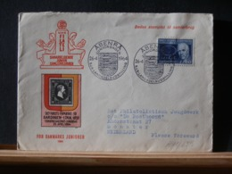A11/659  LETTRE DANMARK 1964 VIGNETTE VERSO - Danimarca