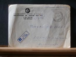 A11/660  LETTRE RECOMM. 1982 POUR LA HOLLANDE - Danimarca