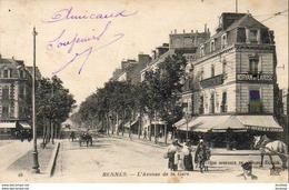 D35  RENNES  L' Avenue De La Gare   ..... - Rennes