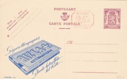 BELGIO - STORIA POSTALE NON VIAGGIATA - BELGIO - INTERO POSTALE 65 C. - RIZLA AUTOMATIQUE - Stamped Stationery