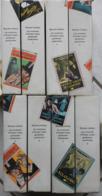 LES AVENTURES D'ARSENE LUPIN GENTLEMAN-CAMBRIOLEUR 8 Vol. Hachette/Gallimard 1961/1962 Voir Scans Et Description. - Bücher, Zeitschriften, Comics