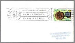 VISITE DOMINGOS MAÑANA BOLSA COLECCIONISTA EN LONJA DE REUS. Reus 1979 - Philatelie & Münzen