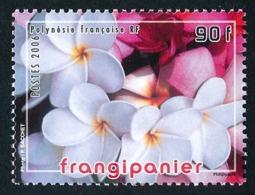 POLYNESIE 2006 - Yv. 775 **   Faciale= 0,76 EUR - Fleur De Frangipanier  ..Réf.POL24812 - Französisch-Polynesien