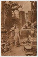C.P.  PICCOLA   D.  MASTROIANNI   QUO VADIS?  NEL  GIARDINO  DI  LINO      (VIAGGIATA) - Sculture