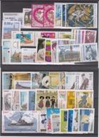 FRANCE ANÉE COMPLETE 2009  - TIMBRES + BLOCS ET FEUILLETS +CARNETS + BLOCS SOUVENIRS ---VOIR LES IMAGES--- - Neufs