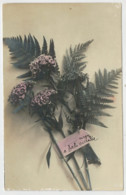 C.P.  PICCOLA     COMPOSIZIONE   FLOREALE    1908       2  SCAN      (SCRITTA) - Fiori