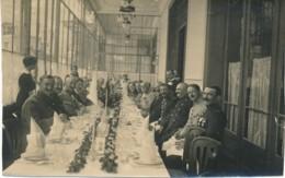 Internées En Suisse - Hotel - Photo Cantine Officiers Prisonnier 1917 - Zwitserland
