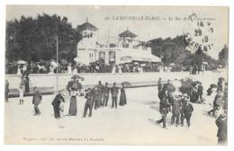 Cpa: 17 LA ROCHELLE PLAGE - Le Bar De La Concurence  1916  N° 96  Ed. Bergevin - La Rochelle